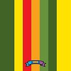 Contrast Color Stripe Pattern by thejoyker1986