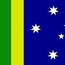My design for the new Australian Flag by Albert