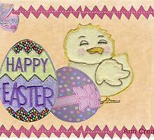 Happy Easter card by Ann12art