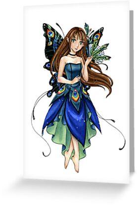 Peacock Fairy by meredithdillman