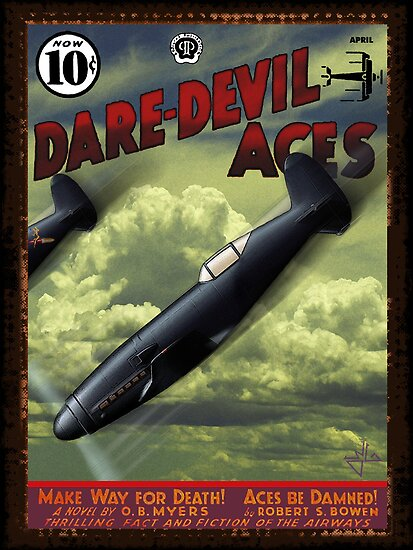 Dare-Devil Aces circa 1938 by dennis william gaylor
