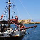 Old Harbour - Old Ship by Francis Drake
