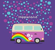 Hippie Land by subcutaneo