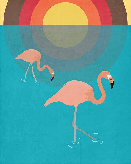 Flamingos by Simon Alenius