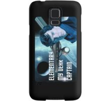 Elementary my dear Captain Samsung Galaxy Case/Skin