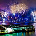 Hong Kong fireworks by kawing921