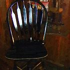 Hitchcock Chair in the Corner by RC deWinter