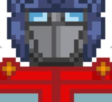 Optimus Prime Pixelated Sticker