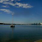 Boats in the Seaway by MardiGCalero