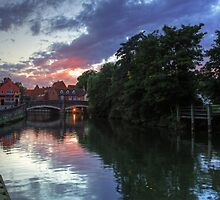 Fye Bridge, Norwich by Ursula Rodgers