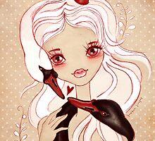 Swan Princess ~ Sketch by sandygrafik
