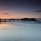 Cromer Pier Dusk by Ursula Rodgers