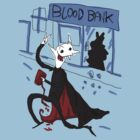 Vampire robbing a blood bank by Extreme-Fantasy
