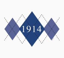 Abstraq Inc: 1914 Argyle (blue) by Abstraq