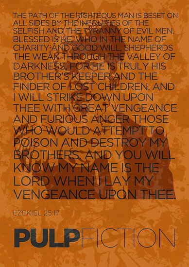 Ezekiel 25:17 by sudhirnair