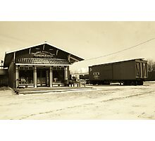 Canal Street Station General Store Photographic Print
