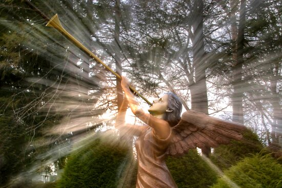 Trumpeting Angel by Gene Walls