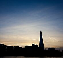 London skyline by Mark Carthy