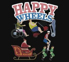 Happy Wheels design T-Shirt