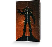 Halo 4 - The Didact Greeting Card