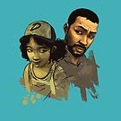 Clem and Lee by philtomato