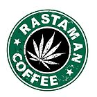 RASTAMAN COFFEE VINTAGE I-PAD CASES by karmadesigner