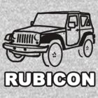 JEEP Rubicon Outline by AstroNance