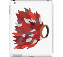 Ring in fire  iPad Case/Skin