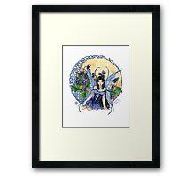 Celtic Violet Fairy Framed Print