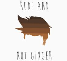 really rude and not ginger Kids Clothes