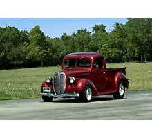 1938 Ford Pickup Hot Rod Photographic Print
