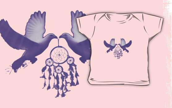 Two Doves/clothing and stickers  by DreamCatcher/ Kyrah Barbette L Hale