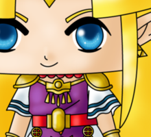 Chibi Zelda Sticker