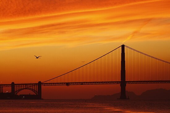 The Fires of the Golden Gate by fototaker