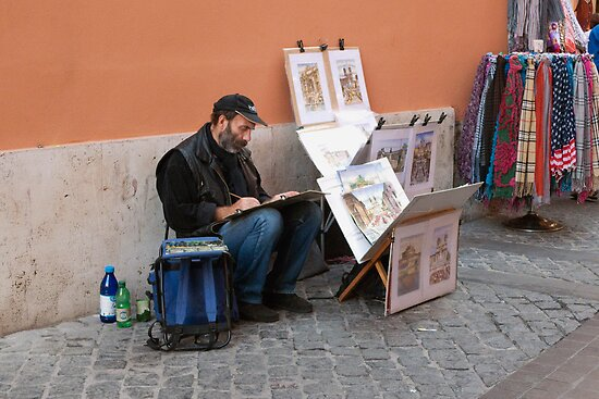 Street Artist by phil decocco
