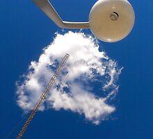 Cloud and Crane by Dean Waite