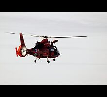 Coast Guard Helicopter by BUNDER