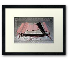 Désir de Soi(e) Framed Print