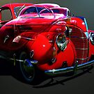 Red Ford Coupe by scat53