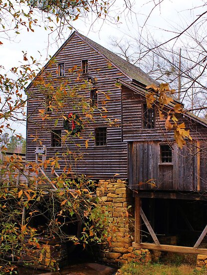 Yates Mill - Raleigh, North Carolina, USA by aprilann