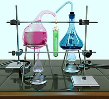 Impossible chemistry experiment by Paul Fleet
