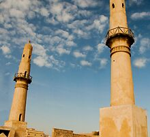 Twin Minarets by John Samson