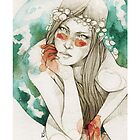 Fairy  iPhone case by elia, illustration