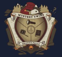 Mystery Twins Crest Kids Clothes