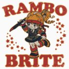 Rambo Brite (Stickers) by OneShoeOff