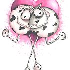 Udderly in Love Cow by Michelle Campbell