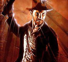 Indiana Jones by Adam McDaniel