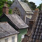 Rooftops in Norfolk by elsiebarge
