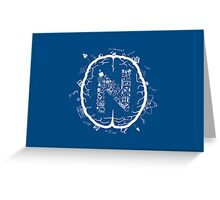 N is for Nerd Greeting Card