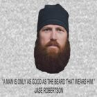Jase - Beard Quote by riskeybr